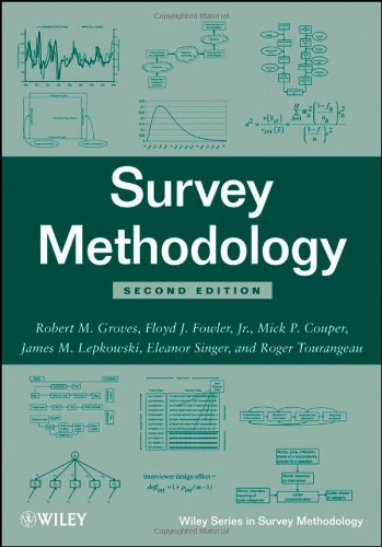 Survey Methodology (Wiley Series in Survey Methodology)